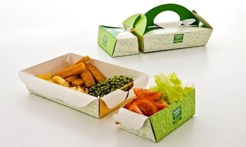 بسته بندی غذا کارتنی و مقوایی